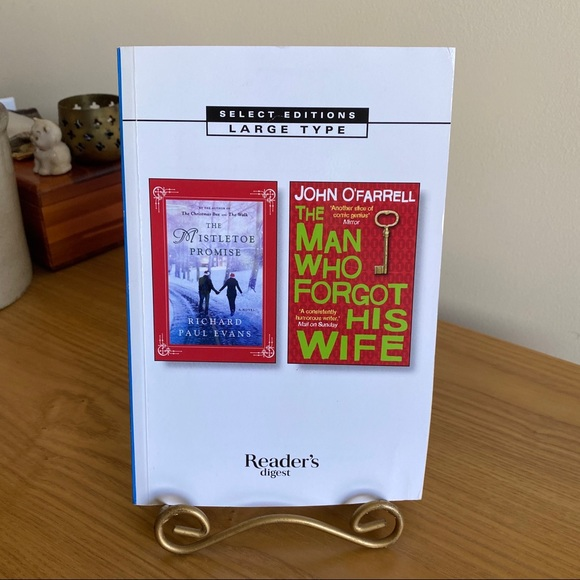 Reader's Digest Condensed Large Print Books Other - Large Print Mistletoe Promise/Man Who Forgot Wife